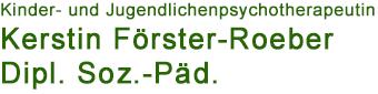 Psychotherapeutische Praxis Kerstin Förster-Roeber